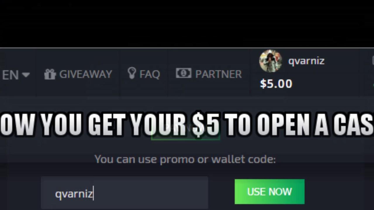 Hellcase Wallet Code