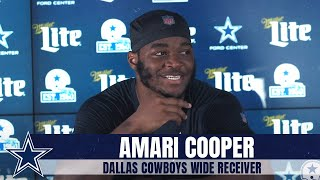 Amari Cooper on Receivers CeeDee Lamb & Michael Gallup | Dallas Cowboys 2020