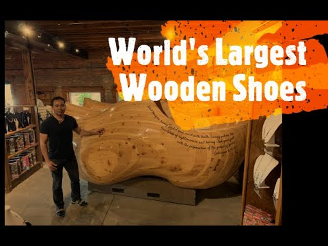Where Is The Largest Wooden Shoes In The World Brain Contour