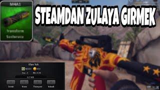 ZULA'YA STEAM'DAN BAGLANMANIN FAYDALARI EFSO HEDİYELER!!!