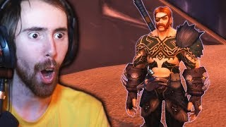 Asmongold First Transmog Competition of Patch 8.1! - THIS WAS EPIC!