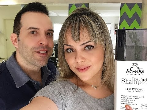 VLOG/Resenha - SHAMPOO QUE ALISA - The First -  Sweet Hair