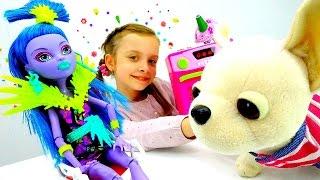 Игры  для девочек - Кукла Монстр Хай Джейн заболела