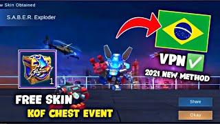 BRAZIL VPN IS WORKING AGAIN! FREE KOF SKIN | 2021 NEW EVENT! MOBILE LEGENDS BANG BANG