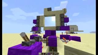 Minecraft - Pistonové dveře 3x3 TUTORIAL