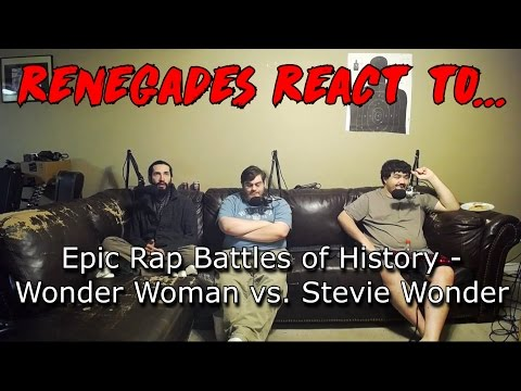 Renegades React to... Epic Rap Battles of History - Wonder Woman vs. Stevie Wonder