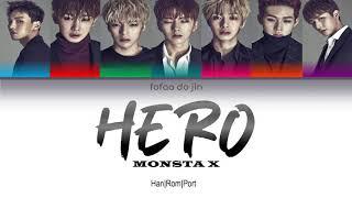 MONSTA X - HERO | Color Coded (Han|Rom|Port) - Fofaa do Jin
