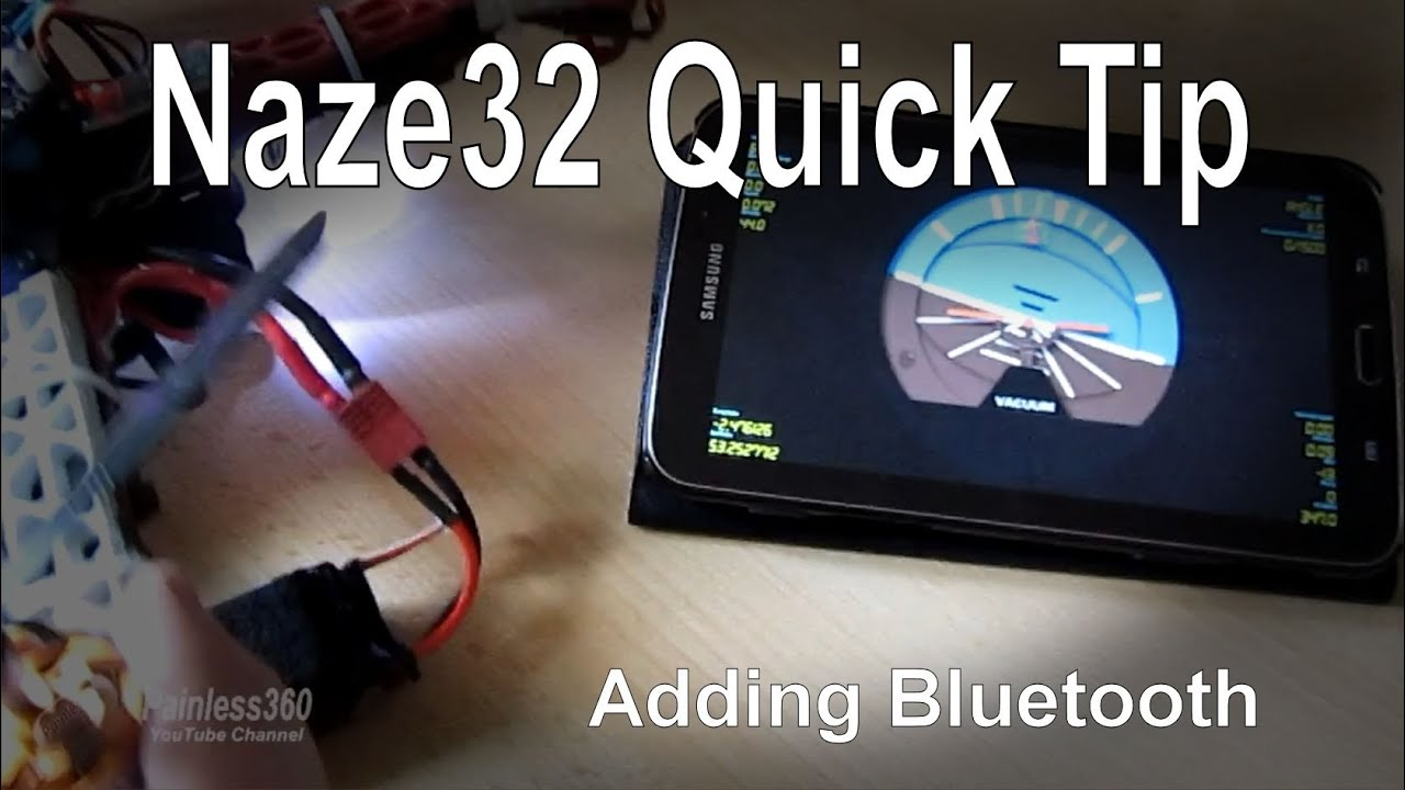 Naze 32 Wiring Bluetooth Explained Diagrams Cc3d Diagram Naze32 Quick Tip Adding Hc 06 Module Youtube Rev 6