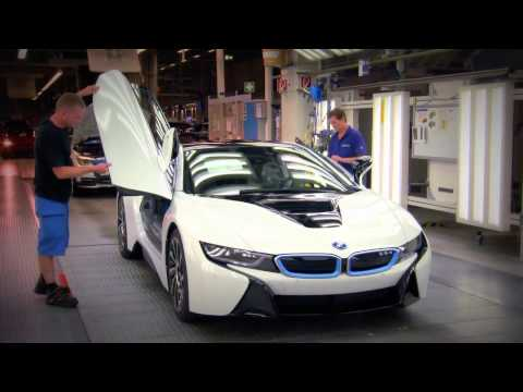 New BMW i8 Assembly Leipzig Plant 2014   Raw Footage   Final check