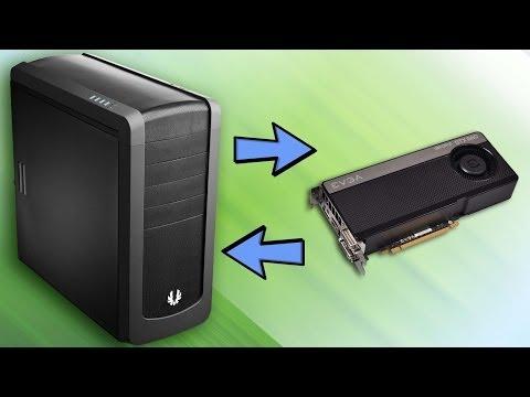 Как установить новую видеокарту на компьютер windows 7