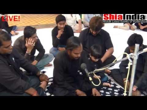 17th Muharram Majlis at Alaaw-e-Yateema, Dabeerpura 1437-2015-16