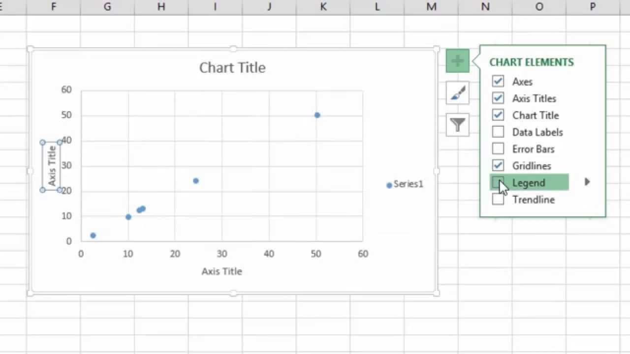 how to add a trendline in excel 2013