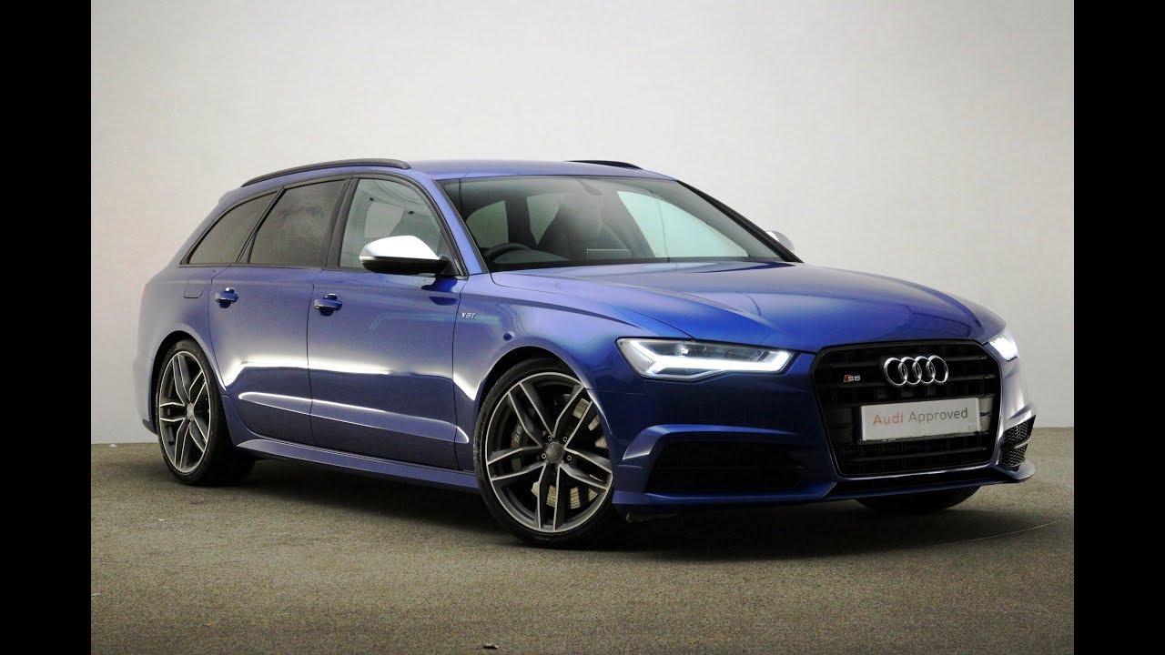 kk17vta audi a6 avant tfsi quattro s6 black edition blue 2017