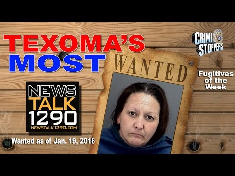 Texoma's Most Wanted Fugitives of the Week