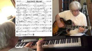 Blessed Relief - guitar & piano jazz cover (Frank Zappa) Yvan Jacques