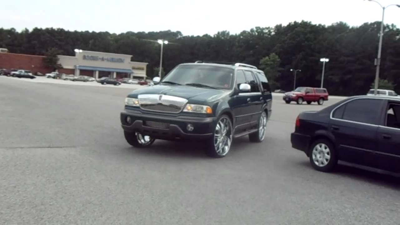 Lincoln Navigator On 28 S 28 S Amp Bandz Hometeam Youtube