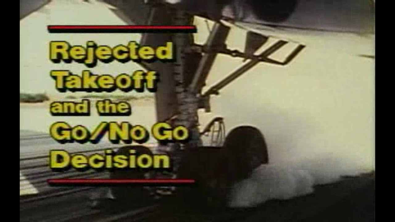 Rejected Takeoff and the Go/NoGo decision. A Boeing video about Takeoff Safety, rejected Takeoff and the Go/NoGo decision. Checkout more study material for flight crew at https://flightcrewguide.com, .... Youtube video for project managers.