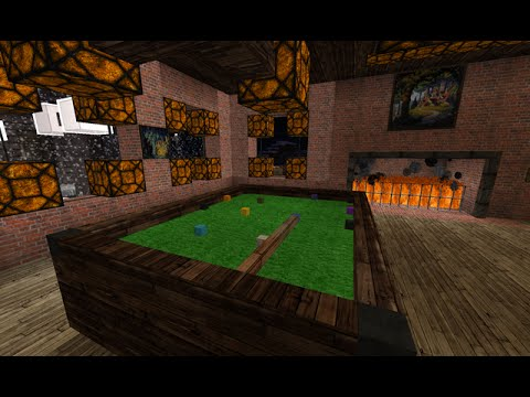 minecraft how to make a pool table - How To Make A Pool Table