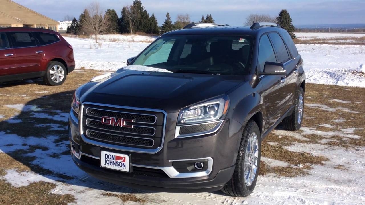 2017 Gmc Acadia Limited At Don Johnson Motors In Rice Lake