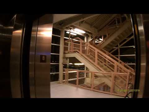Scenic TK impulse traction elevators- SAFEAUTO Garage - Wexner Medical Center (OSU)