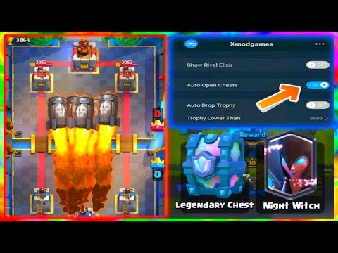 8 Cheats & Hacks & Glitches In Clash Royale | Rapid Fire Sparky | MOD MENU Clash Royale