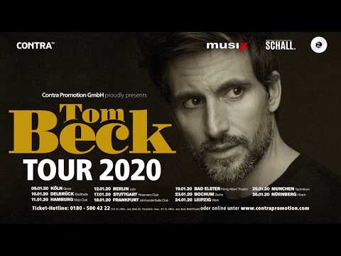 Beck Tour Dates 2020 Tom Beck   Tour 2020 (Trailer)   YouTube