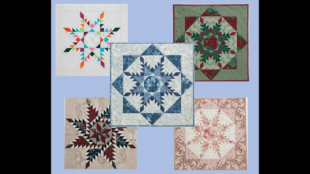 Feathered Star Quilting Techniques with Marsha McCloskey - YouTube : feathered star quilts - Adamdwight.com