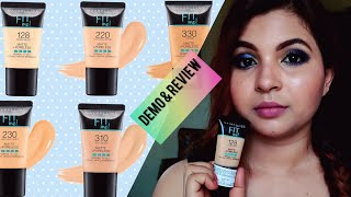 Maybelline Fit Me 128 Warm Nude Foundation Demo amp Review LoveYourself Nilufar