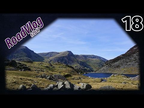 Mistyczne miejsce warte odwiedzenia (Snowdonia) - RoadVlog2017 odcinek 18