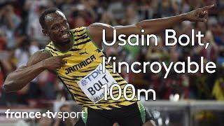 Usain Bolt champion du monde du 100m!