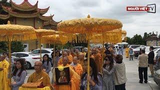 Little Saigon: Đông đảo phật tử đến chùa Bảo Quang tiễn đưa Hòa Thượng Thích Quảng Thanh