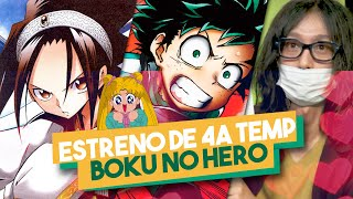 AUTOR SHAMAN KING ENFERMO / 4a TEMP MY HERO ACADEMIA / HORIKOSHI FAN DE BLEACH | MANGA & ANIME NEWS