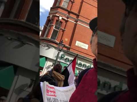 Marxist views April 2018 anti Israel Protest