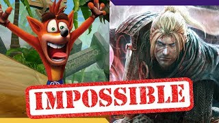 10 extremely difficult levels in recent games