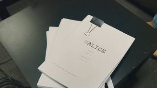 'Alice' Feature Script is finally finished!