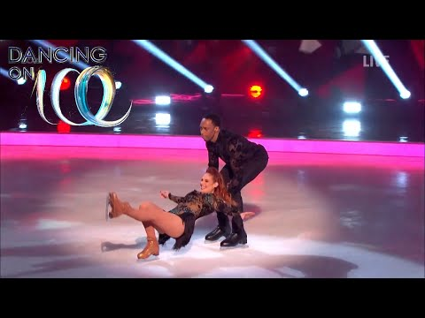 Candice and Matt Take on Lemar and Melody in the First Skate Off! | Dancing On Ice 2018