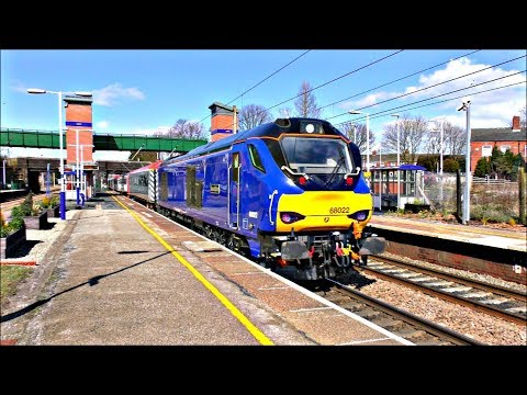Trains at Leyland - West Coast Mainline | 03/04/18