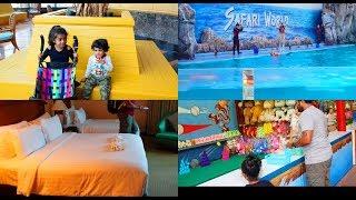 TRAVEL VLOG - Baiyoke Sky Hotel - Safari World - YUMMY TUMMY VLOG
