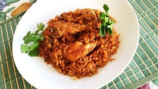 Simple Chicken Biryani (Homestyle) Indian Recipe One-pot meal with chicken, rice and spices