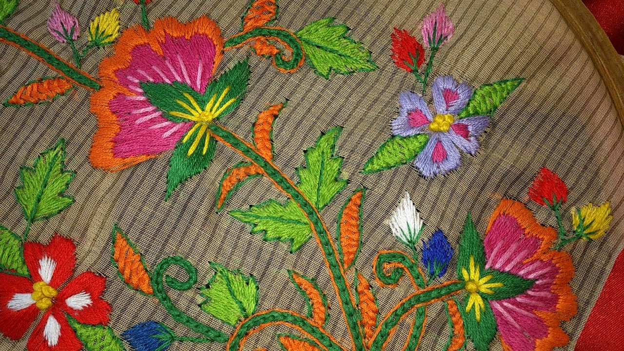 Embroidery Designs For Blouses 55