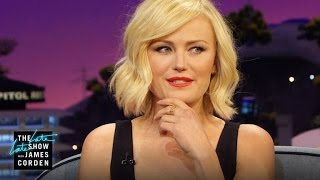 Malin Akerman Fronted a Rock Band
