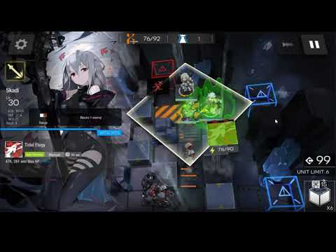 Arknights - HX-3 Challenge 3 Ops Clear