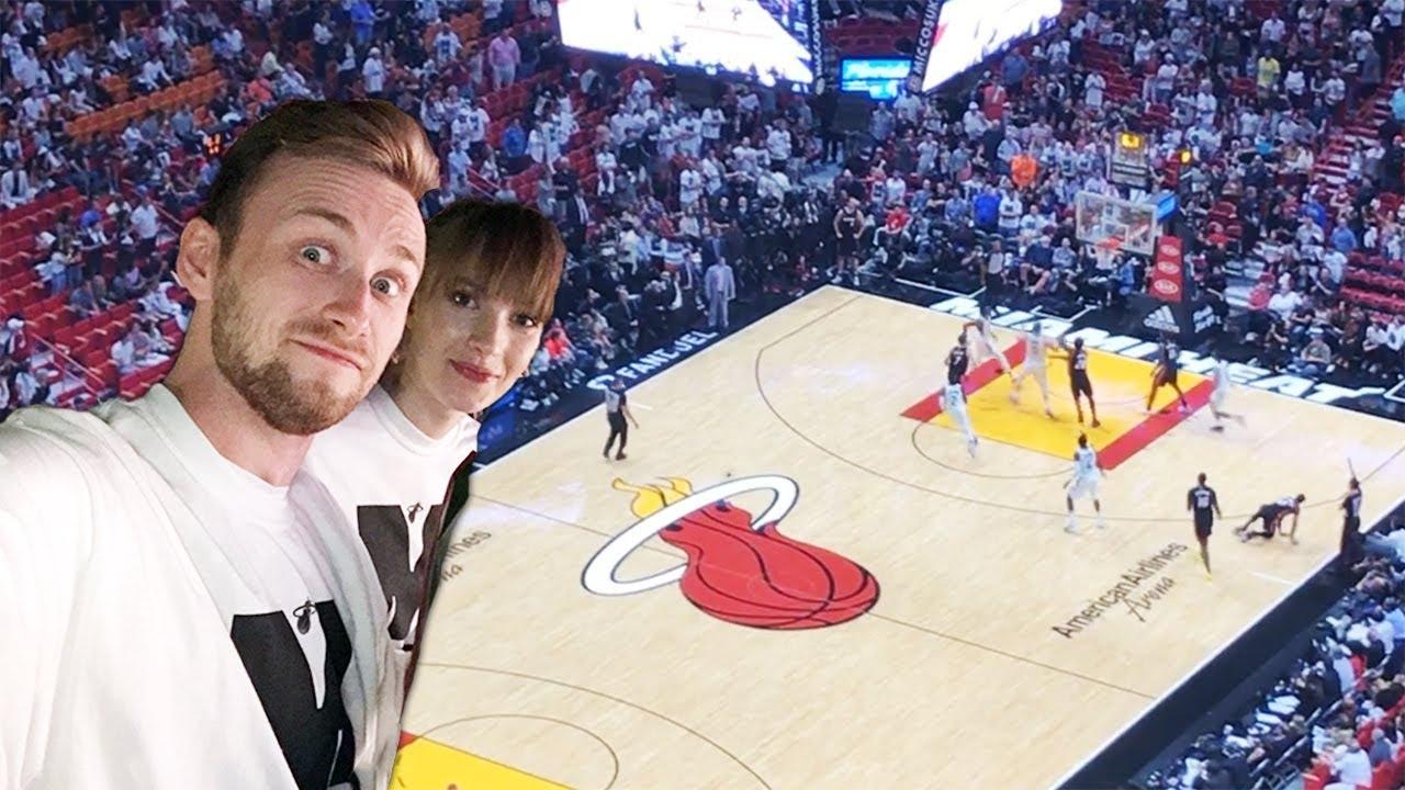 BYŁEM NA MECZU NBA MIAMI HEAT!