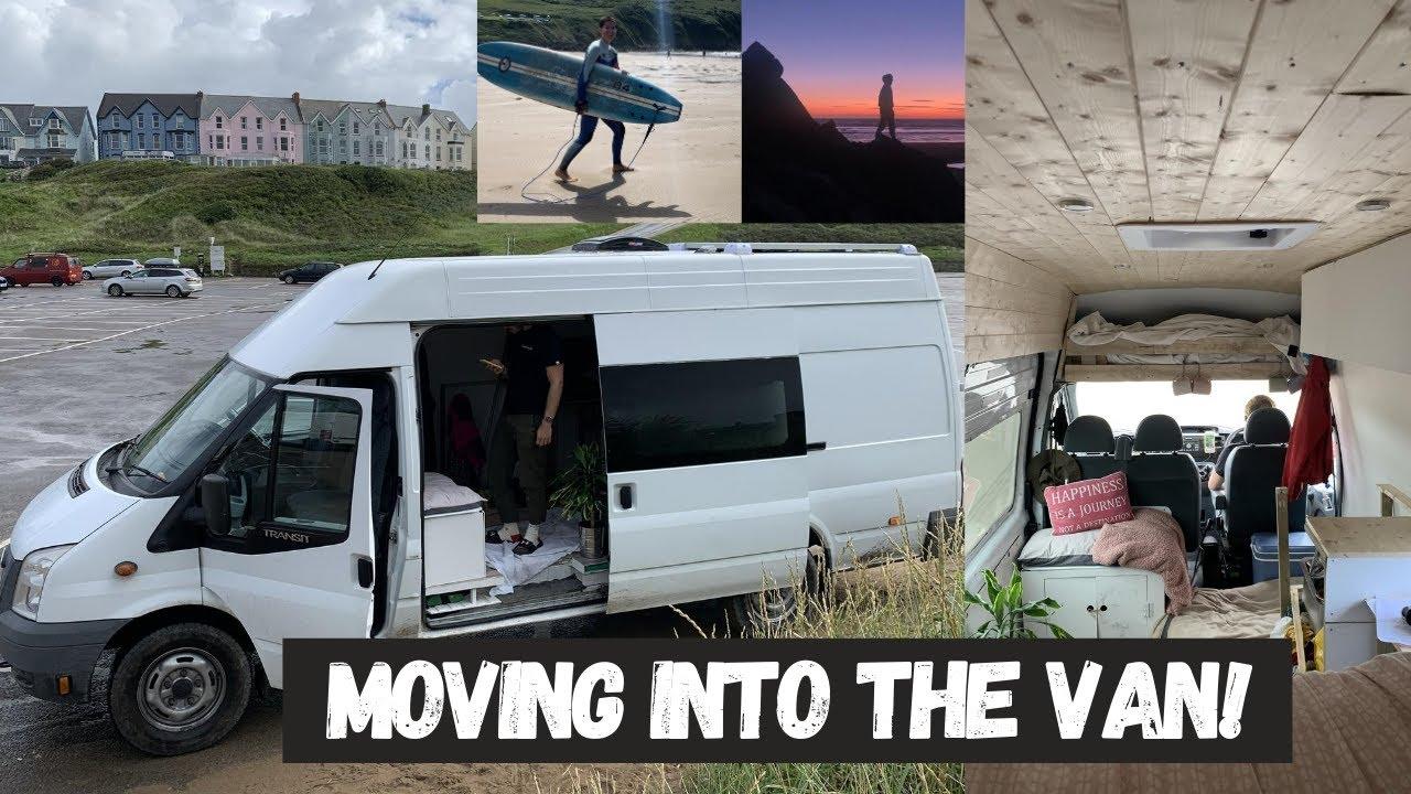 ARE WE VAN LIFERS YET? Surfing in Cornwall/Devon | Lucy Lynch