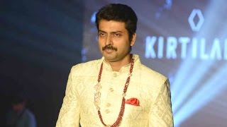 Narain walks the ramp at Madras Bridal Fashion Show | Galatta Tamil