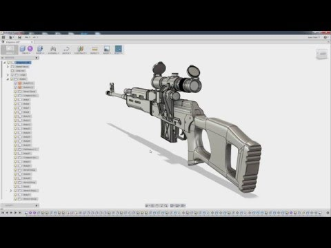 Fusion 360 for Game Artists: Ch 08 - Exporting Complex Geometry