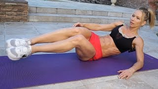 5 Minute Fat Burn Workout #121 - ABS!