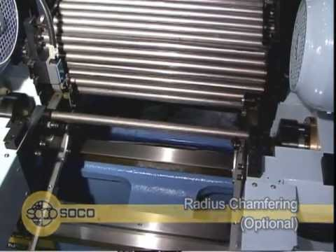 DEF-FA/52 , SOCO OD 52 mm Double LONG Tube Ends Chamfering Machine
