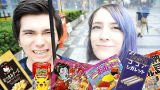 INSIDE A JAPANESE CANDY STORE!!! 駄菓子屋デート