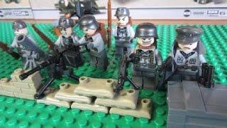 Лего военные. Немецкие солдаты Полевая жандармерия. Лего война  2 Мировая.